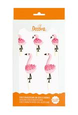 Decora Decora Suikerdecoratie Flamingo