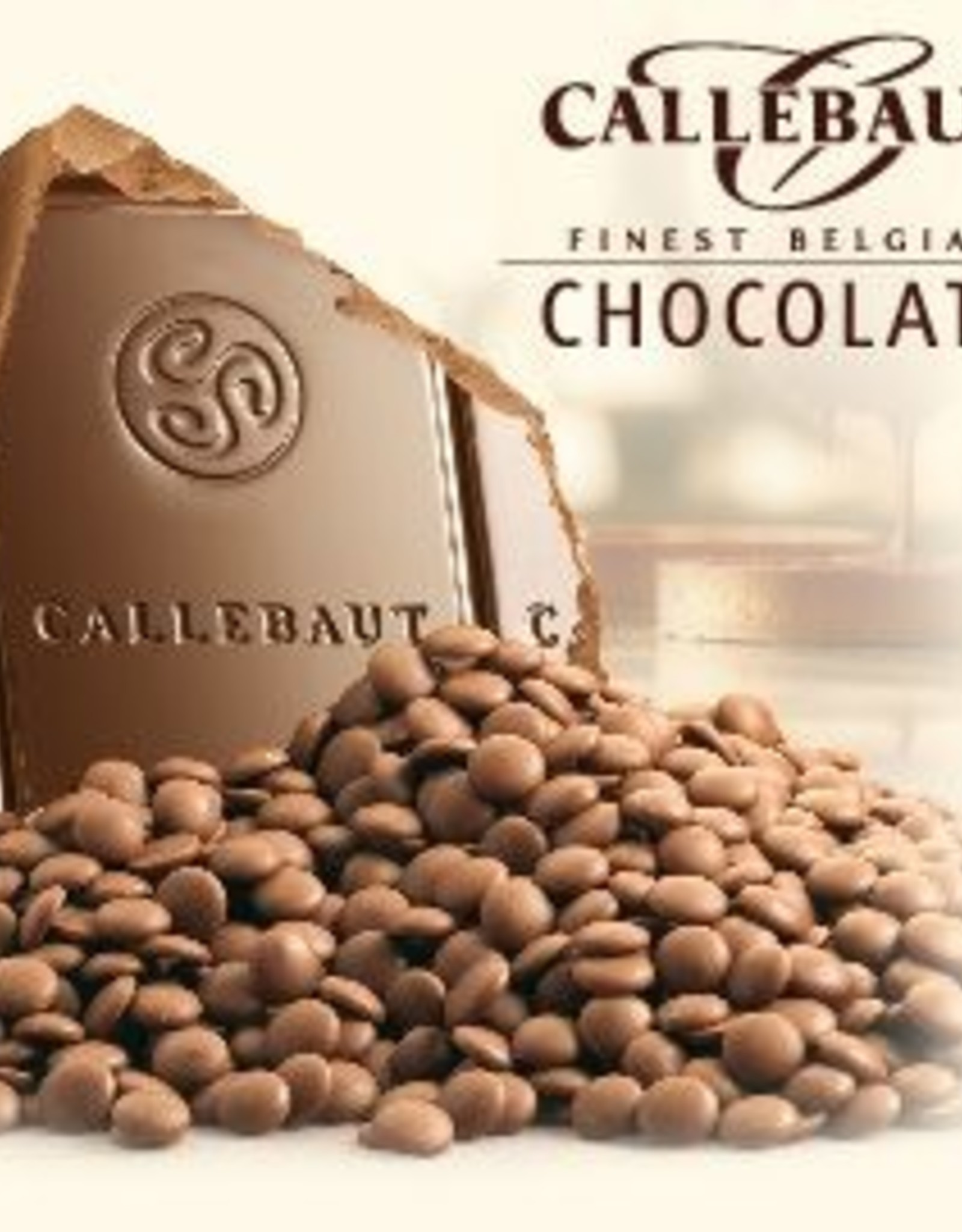 Callebaut Callebaut Chocolade Callets -Melk- 500 gr