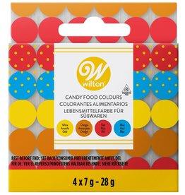 Wilton Wilton Candy Colors Set/4 (Oil based)