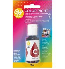 Wilton Color Right Food Color -Karmijn Rood- 19ml
