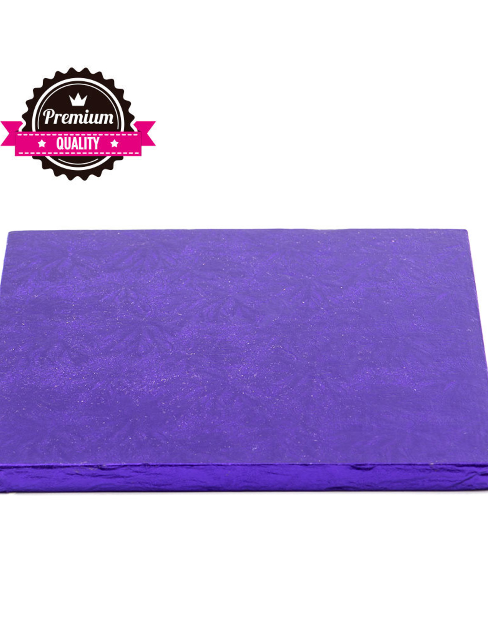 Decora Cake Drum Vierkant 20cm Violet