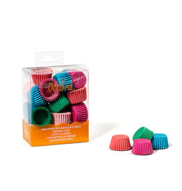 Decora Baking Cups Coloured 27X17mm/200st