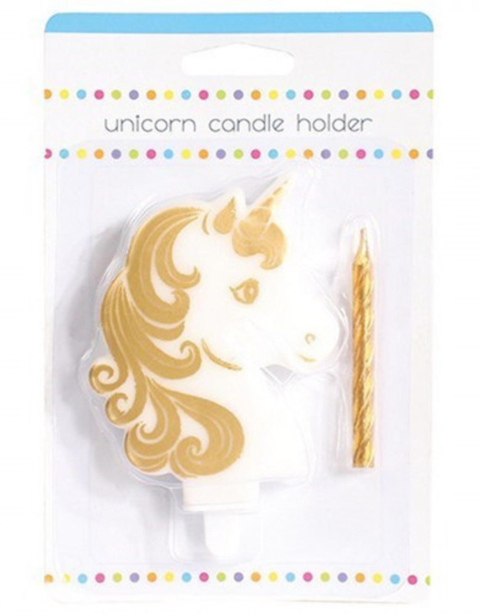 Culpitt Culpitt Taartkaars Unicorn Goud