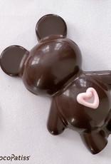 ChocoPatiss Chocolade Holvorm Beertje 12x8x3cm