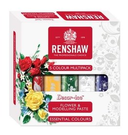 Renshaw Flower & Modelling Paste - Essential 5x100g THT korting