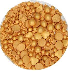 FunCakes FunCakes Sprinkle Medley Gold Deluxe 65 g