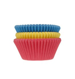 House of Marie House of Marie Baking Cups Assorti Primary pk/75