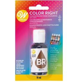 Wilton Wilton Color Right Food Color -Brown- 19ml
