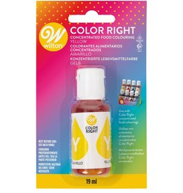 Wilton Wilton Color Right Food Color -Yellow- 19ml