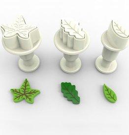 Dekofee Dekofee Mini Plungers Leaves set/3
