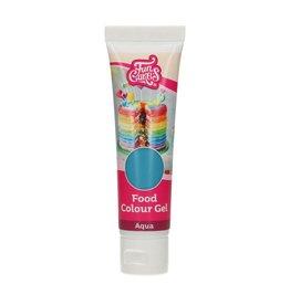 FunCakes FunCakes Eetbare FunColours Gel - Aqua 30g