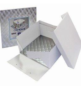 PME Taartdoos & Cake Drum 32,5x32,5x15 cm