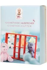 Dekofee Dekofee Betty 1-2-3 Method Cutter Set