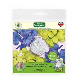 Katy Sue Designs Katy Sue Mould & Veiner Filler Flower Hydrangea Back