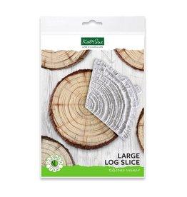 Katy Sue Designs Katy Sue Mould & Veiner Large Log Slice
