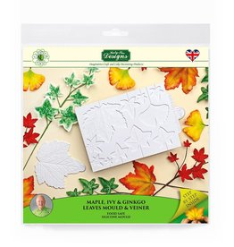 Katy Sue Designs Katy Sue Mould & Veiner Maple, Ivy and Ginkgo Leaves