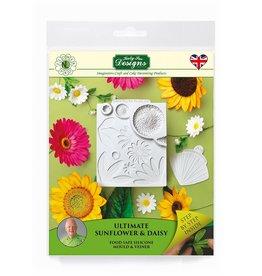 Katy Sue Designs Katy Sue Mould &Veiner Ultimate Sunflower /Daisy