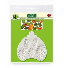 Katy Sue Designs Katy Sue Mould Blackberry & Oak leaves