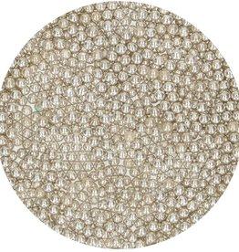 FunCakes Suikerparels Medium Metallic Zilver 80 g