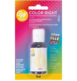 Wilton Color Right Food Color -Ivory- 19ml