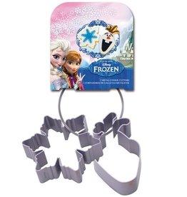 Stor Metalen Koekjes Uitstekers Frozen set/2
