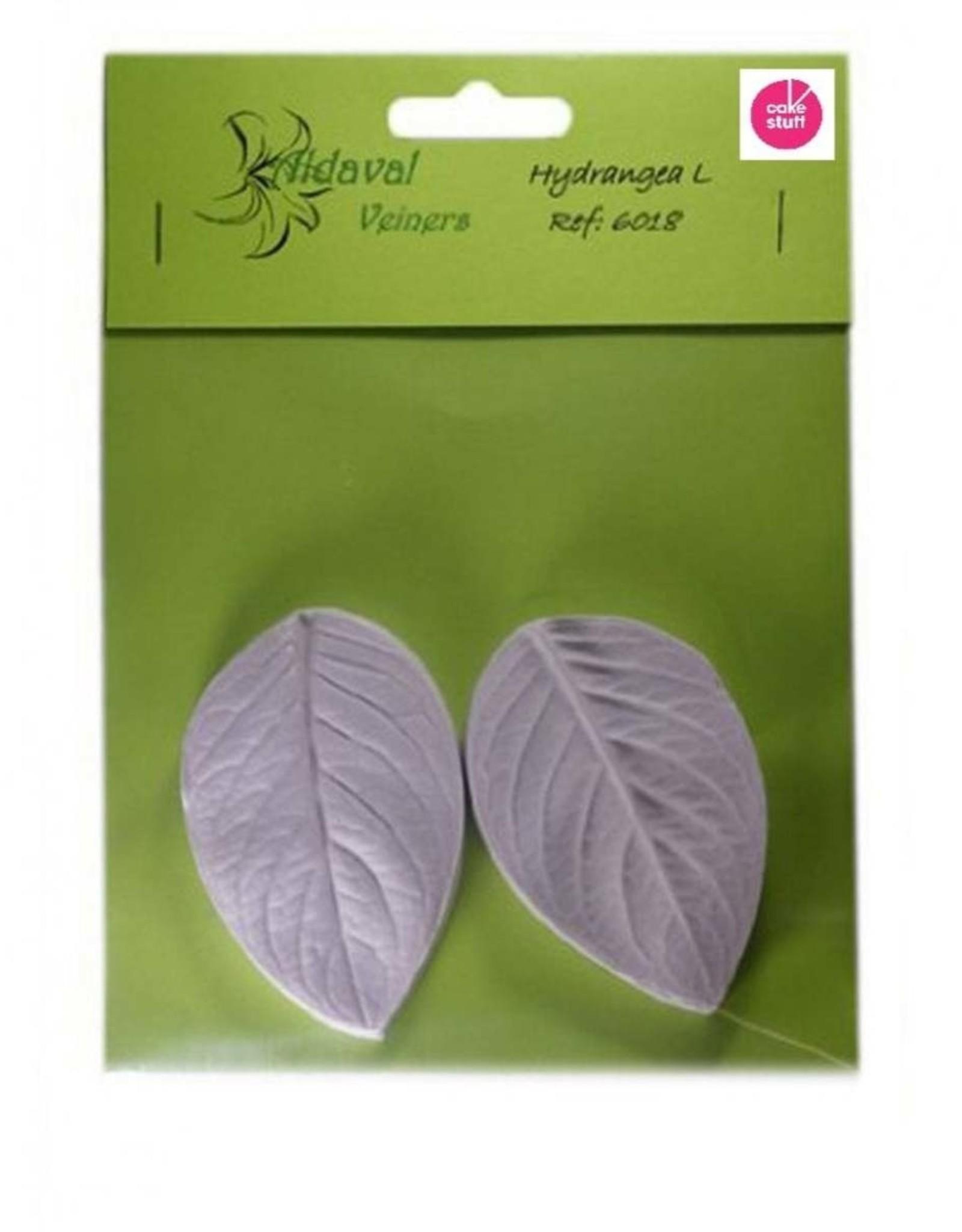 Aldaval Veiners Aldaval Hydrangea Leaf Veiner Large 8cm