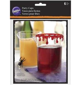 Wilton Wilton Beaker Party Cups Drink Your Treat pk/6