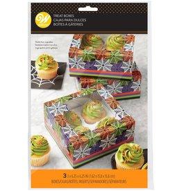 Wilton Wilton Cupcake Box Web pk/3