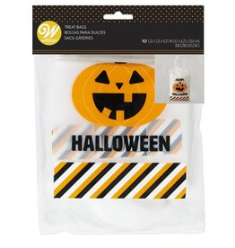 Wilton Wilton Treat Bags Happy Halloween pk/10