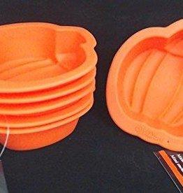 Wilton Wilton Silicone Mold Pumpkin Oranje