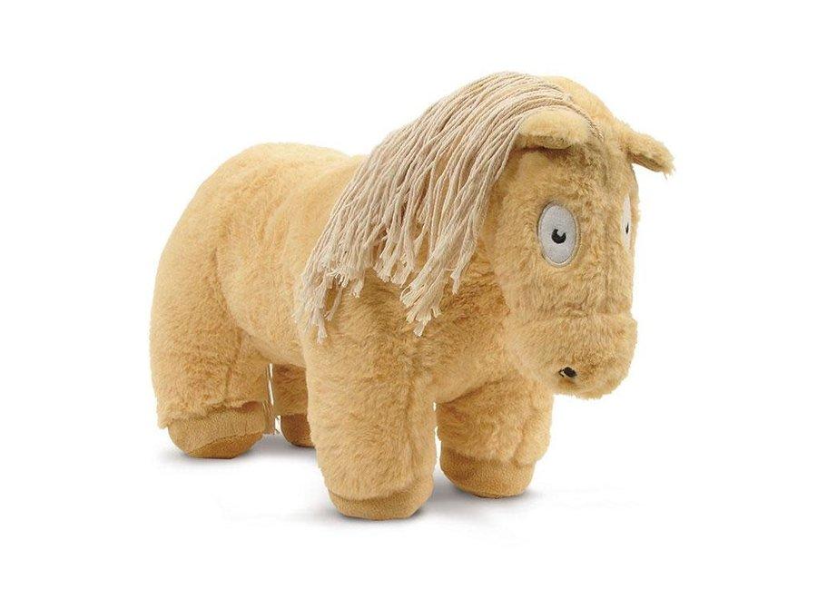 Paardenknuffel Palomino incl. boekje