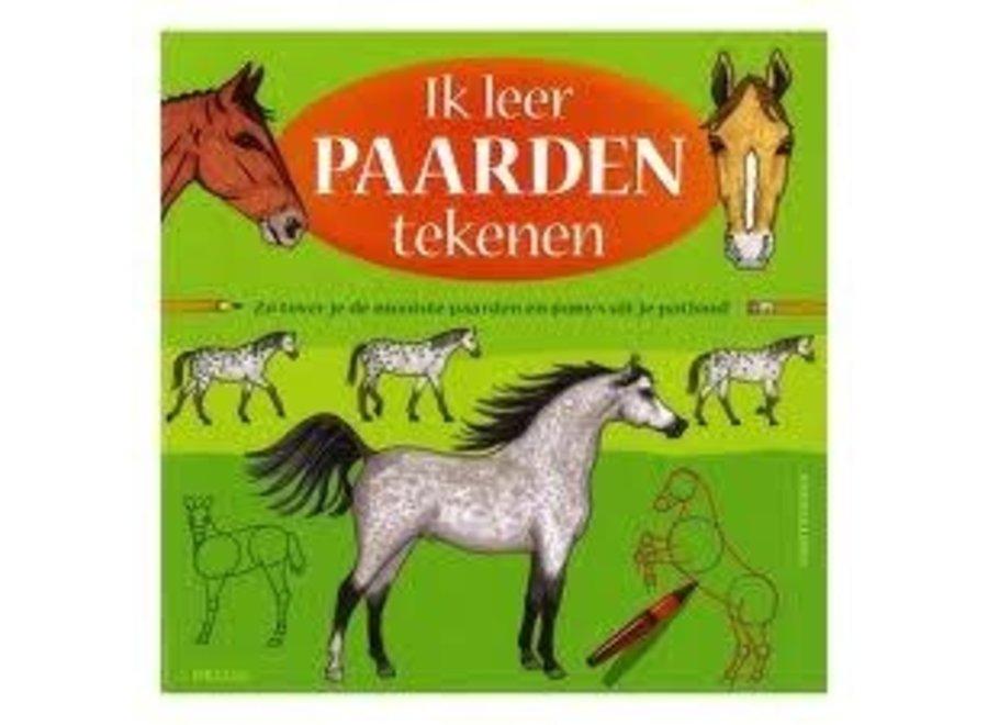 Ik leer paarden tekenen. Tekenboek