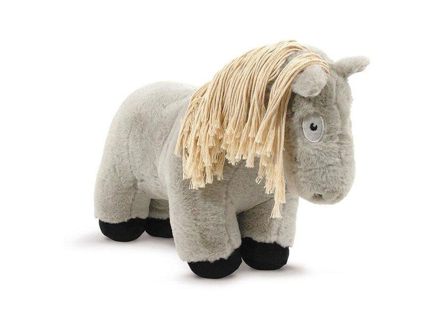 Paardenknuffel Grijs incl. boekje