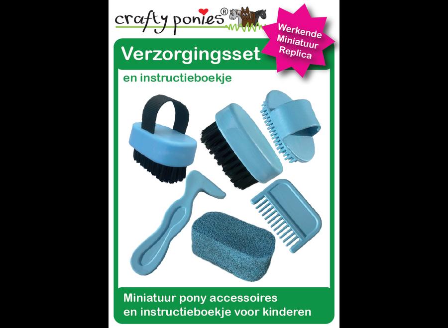 Crafty Ponies verzorgingsset incl. instructieboekje