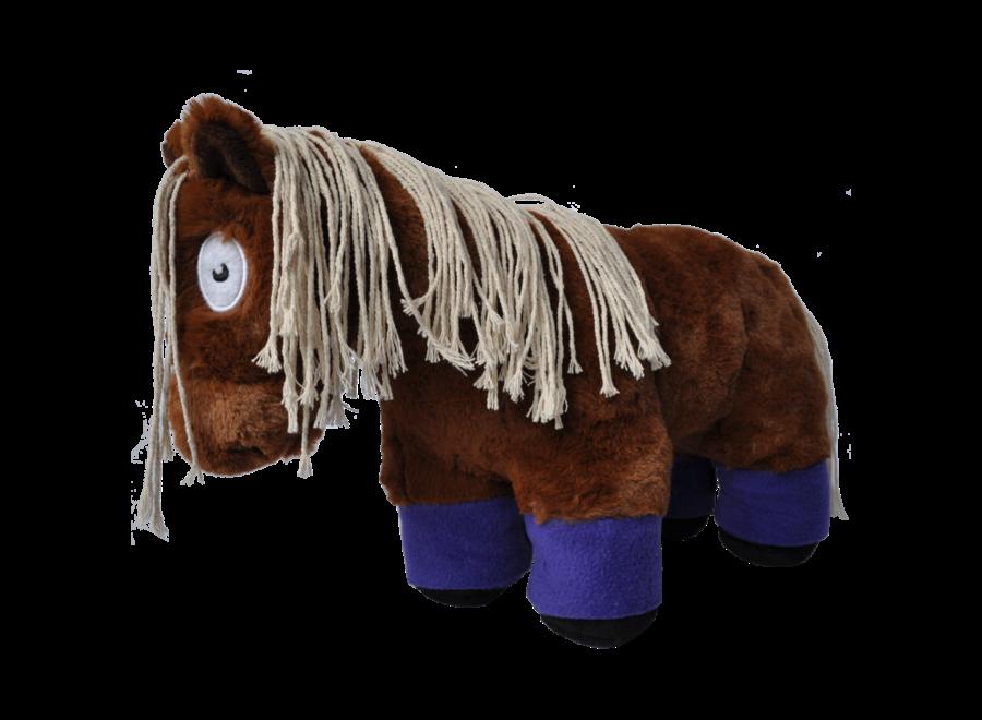 Crafty Ponies bandages paars incl. boekje