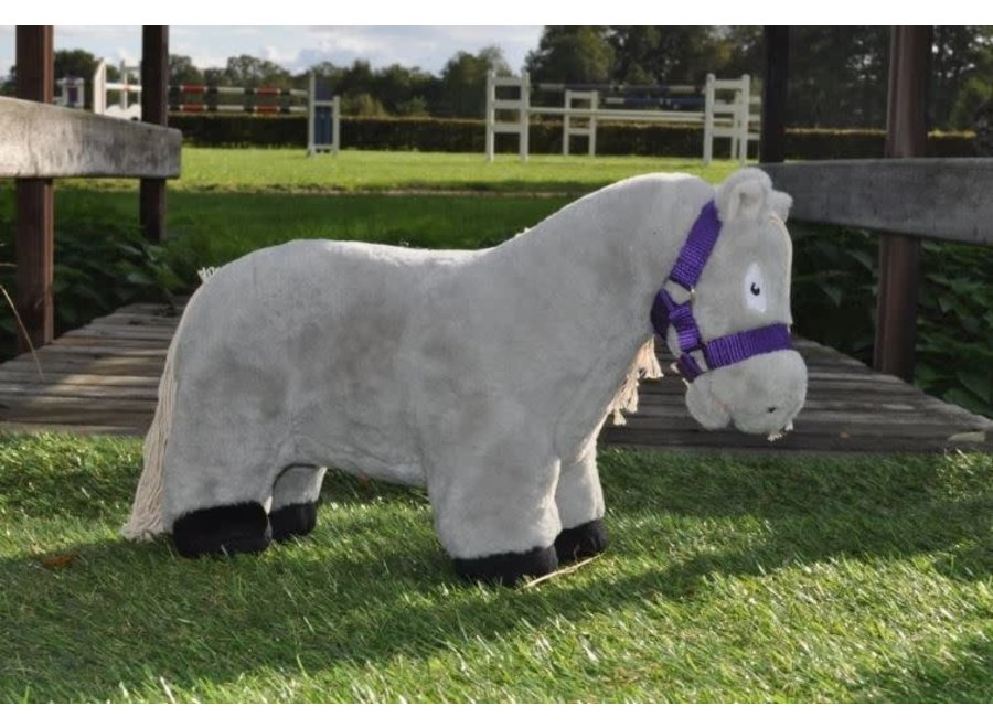 Crafty Ponies halster paars incl. boekje