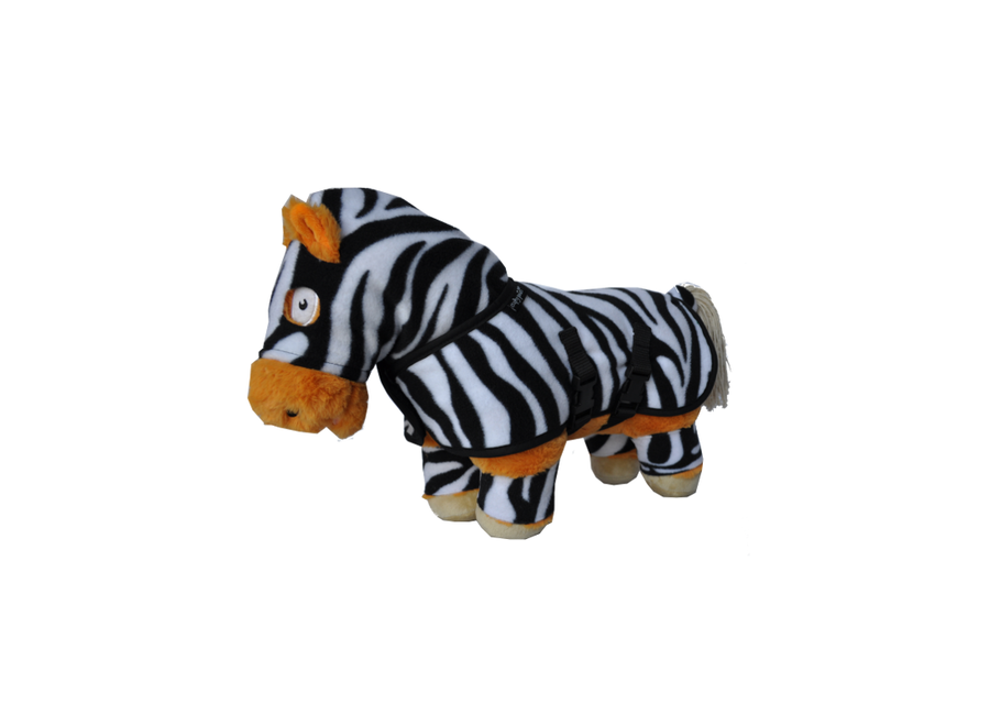 Crafty Ponies knuffeldekenset zebra incl. boekje