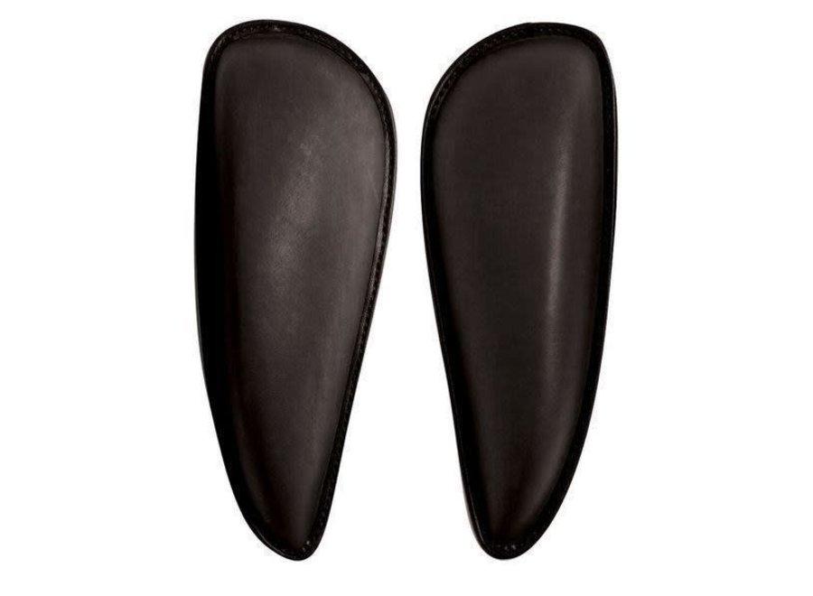 Bates Kniewrongen Dressuur Large zwart