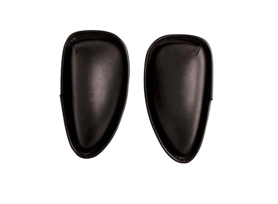Kniewrongen Jump Front Large zwart