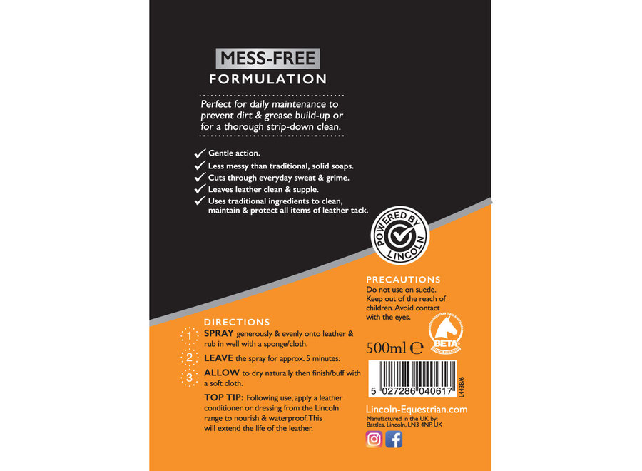 Glycerine Spray Soap 500ml