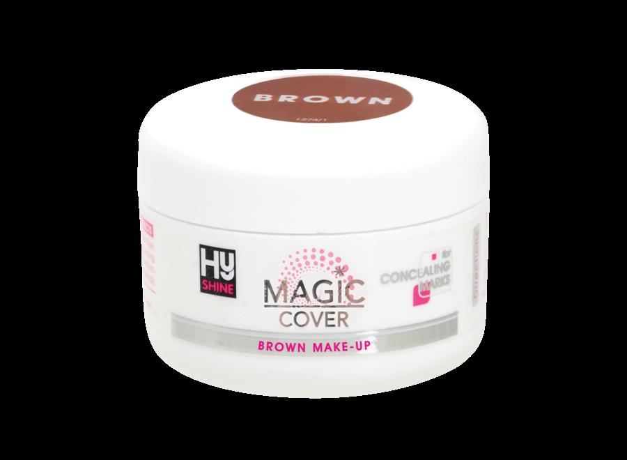 Magic Cover Make-Up Bruin 50gr