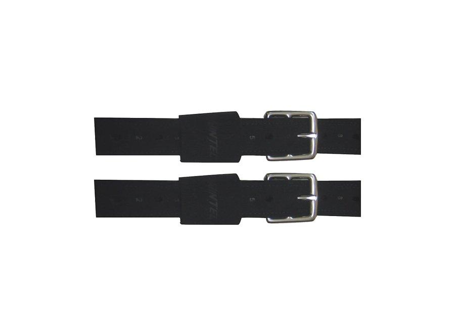 Beugelriemen Wintec Pro Stock 147cm zwart