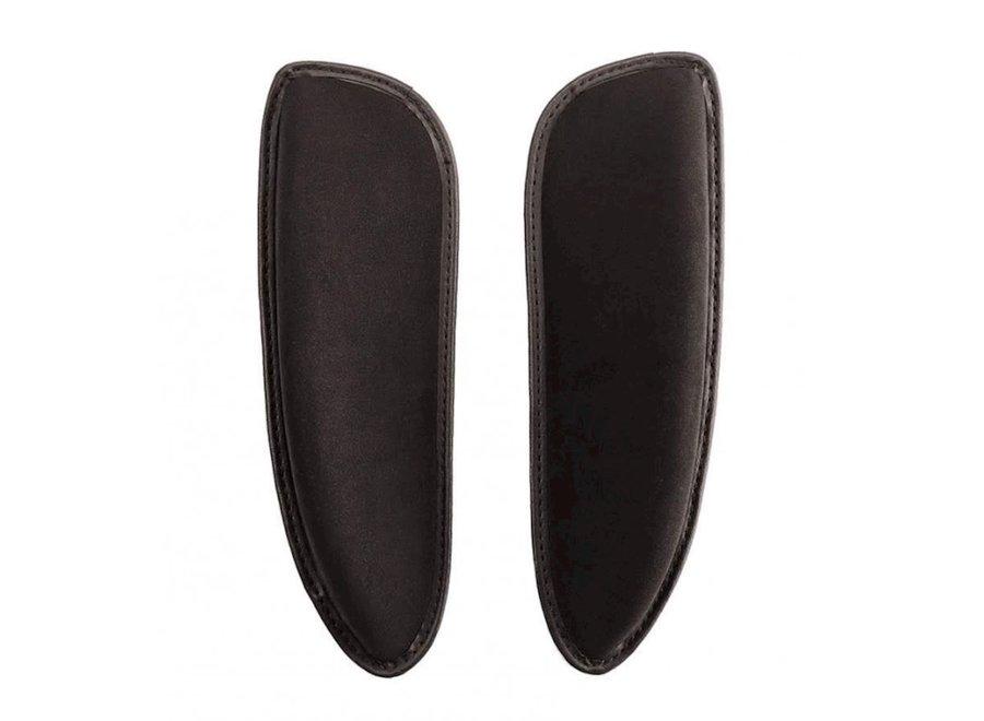 Kniewrongen  dressuur standaard zwart