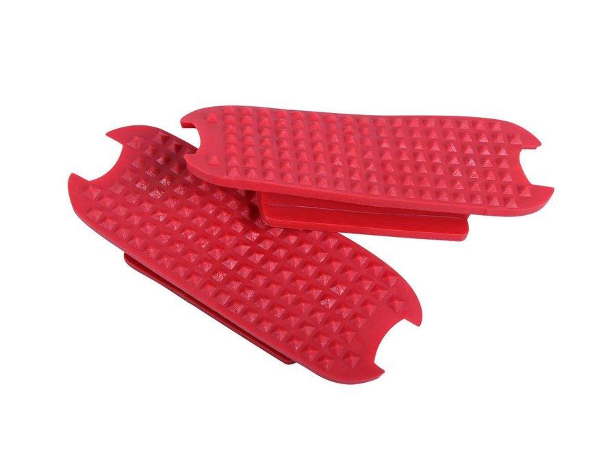 Beugelzooltjes Rood 12cm