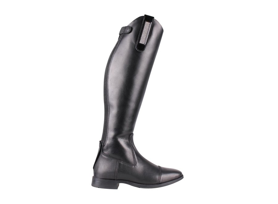 Laarzenclip Madelon zwart/zilver Junior