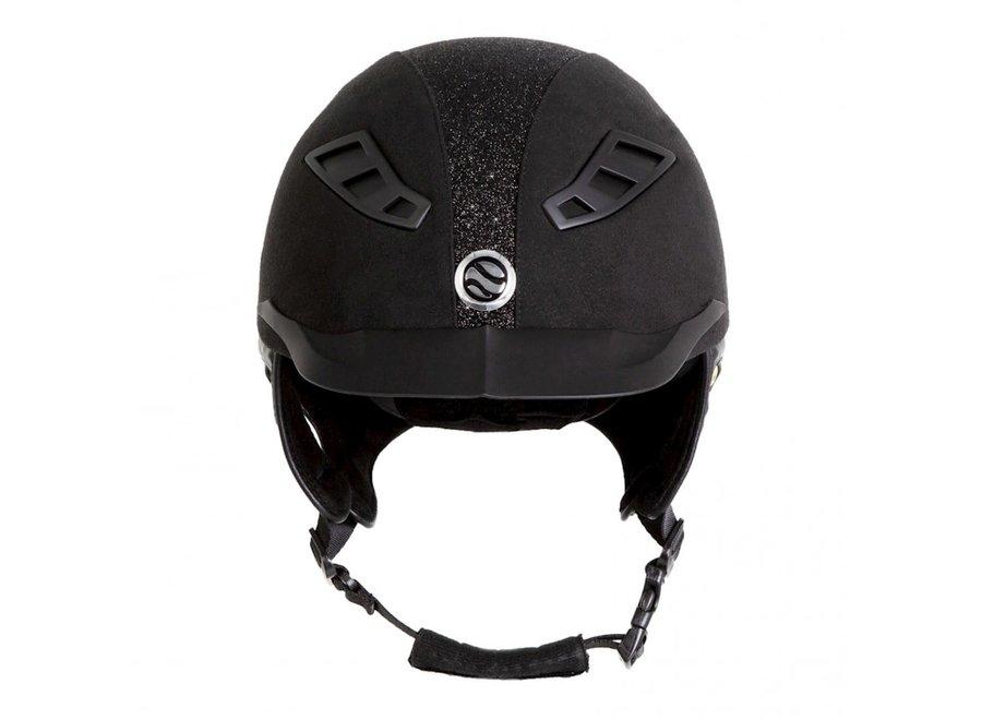 EQ3 Lynx helm microfiber Black Sand M 54-58