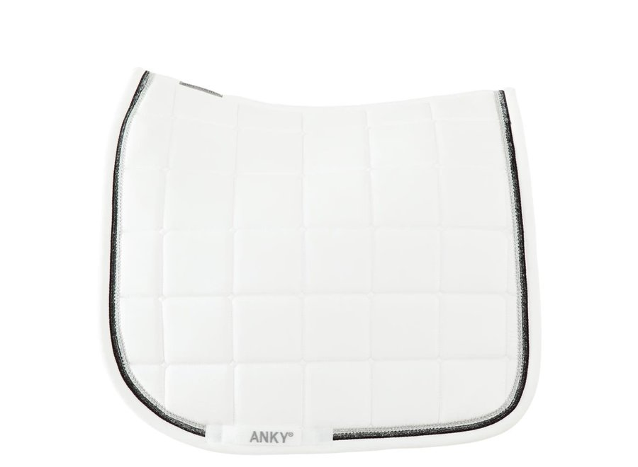 Anky pad zadeldek Concours dressuur XB18005 wit Cob