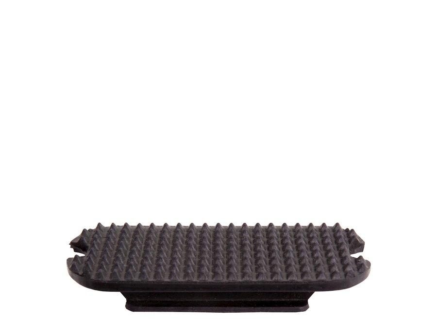 Beugelzool zwart 12cm