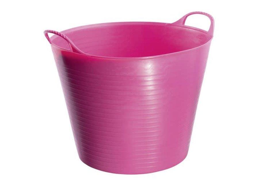 Emmer Tubtrug 26 liter roze