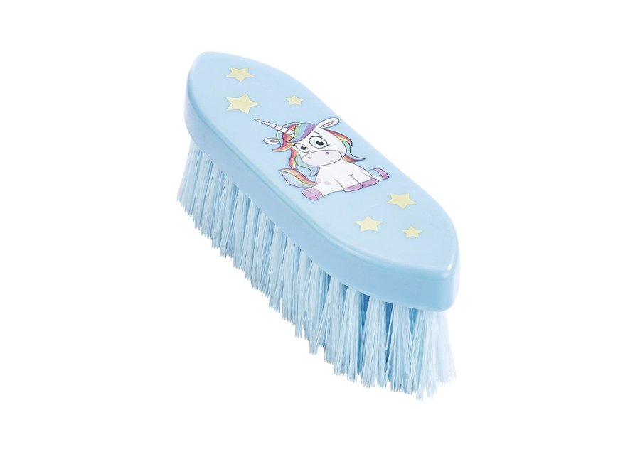 Harde borstel groot dandy brush Eenhoorn Lichtblauw